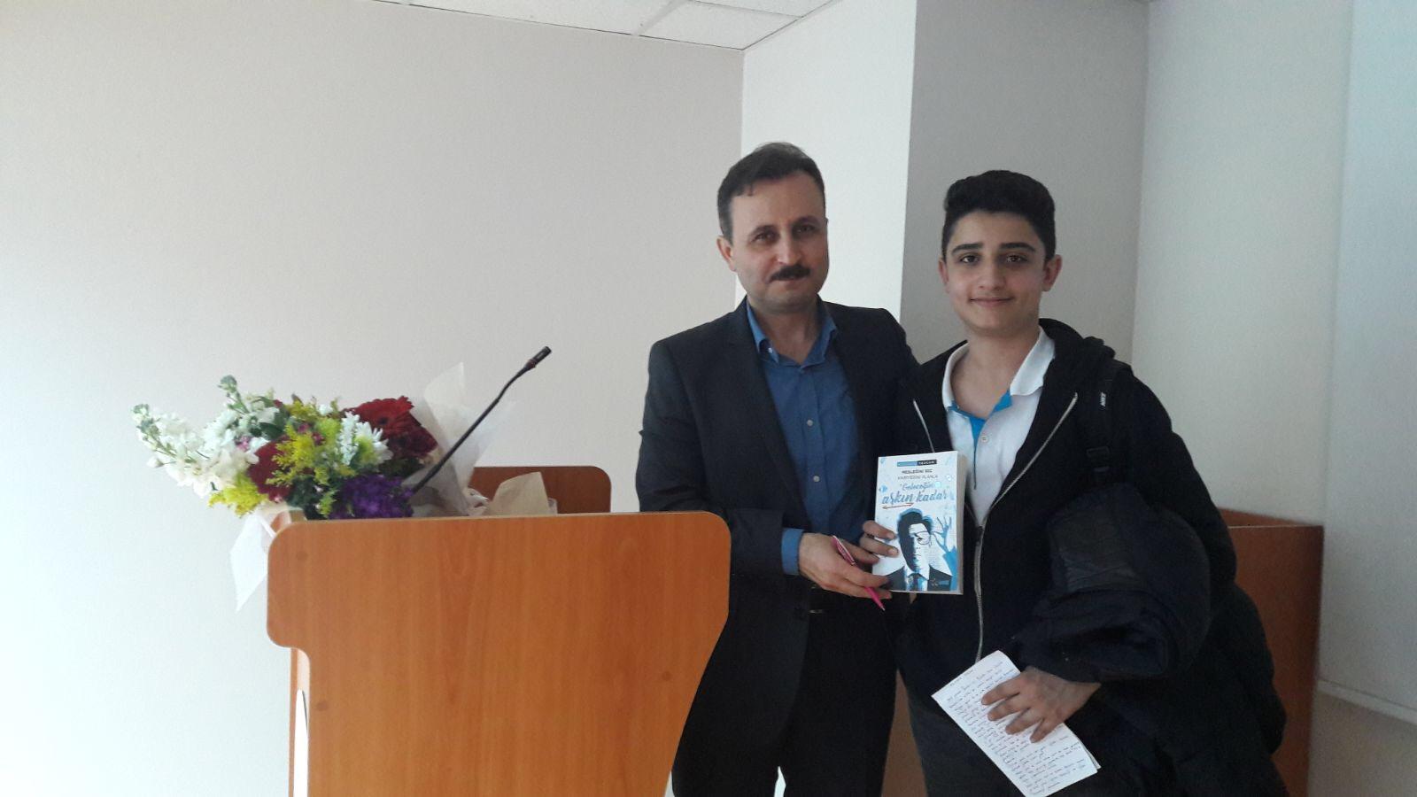 Mustafa Tezcan İmza Günü - DUYURULAR - İdeal Akademi Yayınları